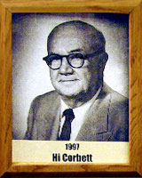 Hi Corbett