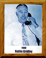 Rollin T Gridley