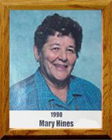 Mary Hines