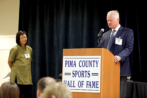 Patsy Lee and Pat Darcy Pima County Sports Hall of Fame