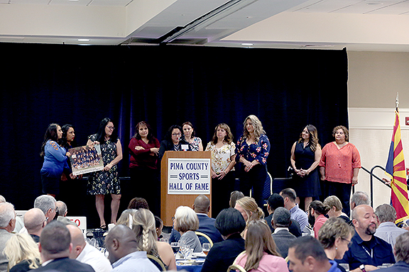Pueblo High School 1990 State Championship Softball Team Pima County Sports Hall of Fame