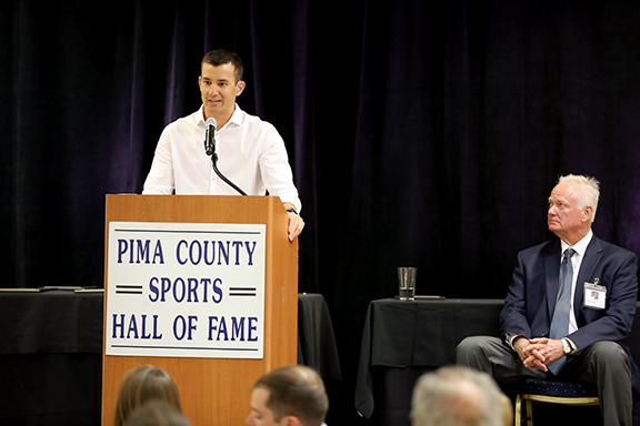 Marcus Titus Pima County Sports Hall of Fame