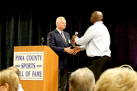 Pat Darcy and Sean Harris Pima County Sports Hall of Fame