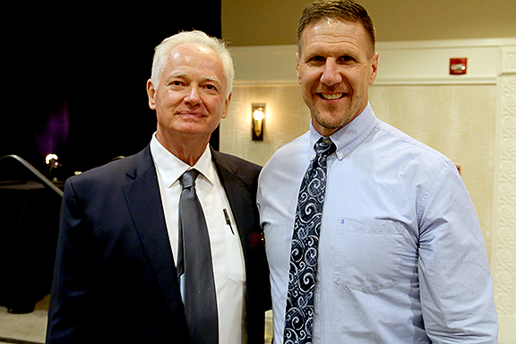 Pat Darcy & Rich Griffith Pima County Sports Hall of Fame