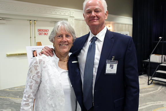 Kathy Krucker and Pat Darcy Pima County Sports Hall of Fame