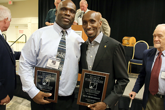 Sean Harris and Abdi Abdirahman Pima County Sports Hall of Fame