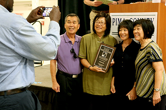 Patsy Lee Pima County Sports Hall of Fame