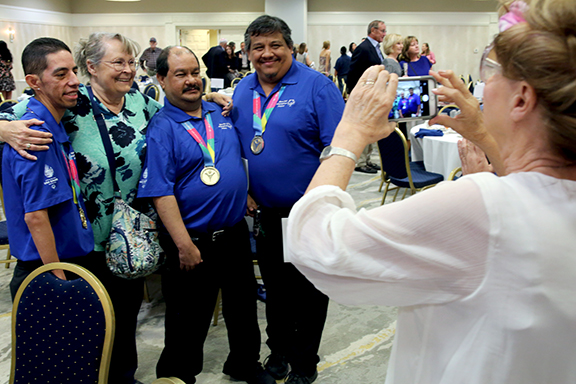 Special Olympians Pima County Sports Hall of Fame