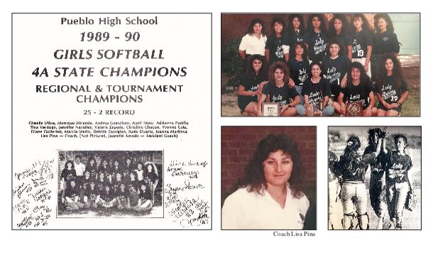 Pueblo High School 1990 Softball Team